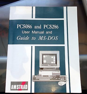 pc5086  and pc5286 user manual and guide to ms-dos