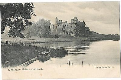 Linlithgow   Palace   And    Loch.