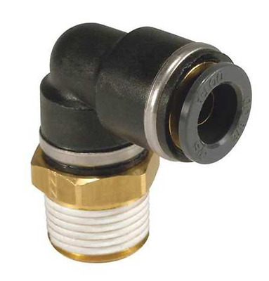 """DOT 3/8"""" NPT X 5/8"""" Tube Push To Connect Nylon Male 90˚ Elbow One Touch  [D3B2]"""
