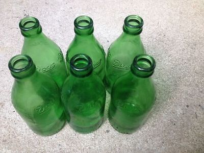 Lot of 6 vintage Dow bottle good condition 1940-1950 beer
