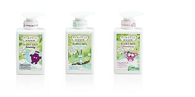 JACK N' JILL NATURAL BUBBLE BATH 300ml 3 Varieties