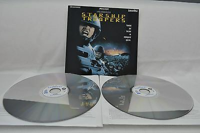Starship Troopers Widescreen Edition Laserdisc Pal Excellent!