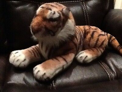 tiger soft toy. large.cat.70 Cm Long.