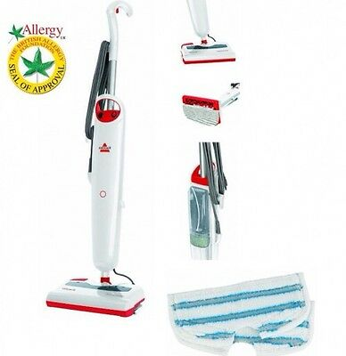 Bissell 42A8E 1500-watt Steam and Sweep in White