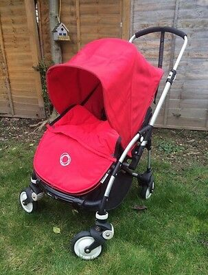 Bugaboo Bee With Fleece Lined Seat And Footmuff
