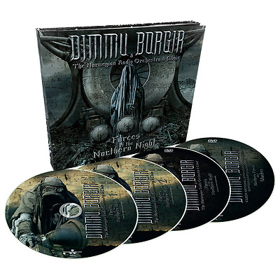 DIMMU BORGIR Forces of the Northern Night 2 CD + 2 dvds Digi Pack IN STOCK