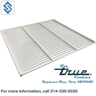 White Coated Wire Shelves for True GDM-49 IDL Coolers - True 874089