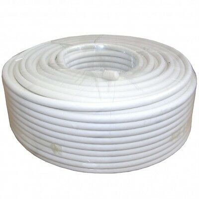 100 x 100m High Quality White RG6 Coiled Coax Cable Stock Clearance Product