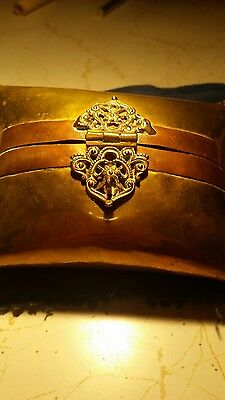 Vintage small copper and brass bag .amazing.pick up canberra