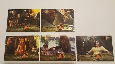 Farscape Season 3 Behind The Scenes 5x Chase Card Set BTS58-BTS62 Near Mint