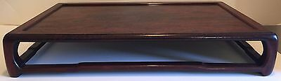 Antique Chinese Huanghuali (Rose) Wood Low Display Table Stand