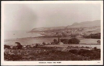 Brodick From The West, Isle Of Arran, Buteshire, Scotland, Rp.