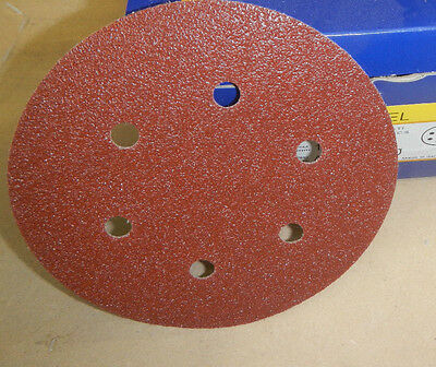 SAIT 150mm Vel Sanding Disc 40 Grit 50 pcs Abrasives