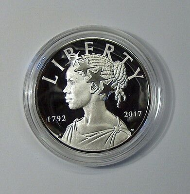 2017 P - American Liberty - 225th Anniversary Proof SILVER Medal  1oz 99.9% 17XB