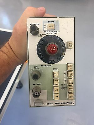 Tektronix 5B10N Time Base/Amplifier Plug In