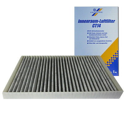 Innenraumfilter Pollenfilter Aktivkohle Audi A6 C4 C5 CT14