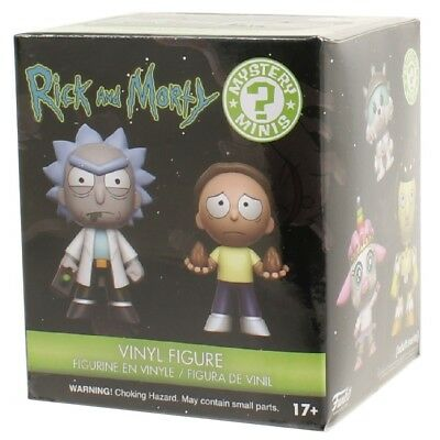 Funko Rick & Morty - Mystery Mini Blind Box Vinyl Action Figure Collectible Toy