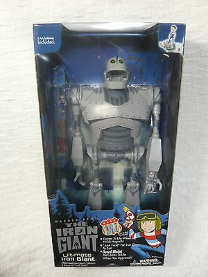 "Rare 1999 Ultimate Iron Giant 20"" Figure Warner Bros Trendmasters NIB Unopened"