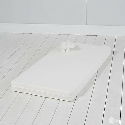 NEW The Little White Company Pocket Sprung Baby Cot Mattress White RRP £225