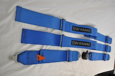 Set Of Securon 4 Point Racing Harnesses - Safety Belt FIA Spec Expired KF