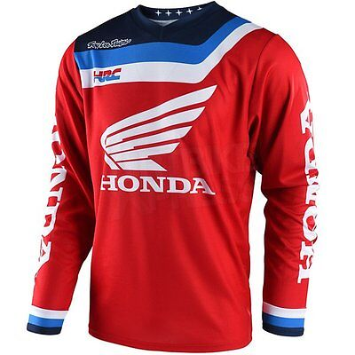 New Troy Lee Designs Motocross Gp Air Jersey Prisma Honda Red Large