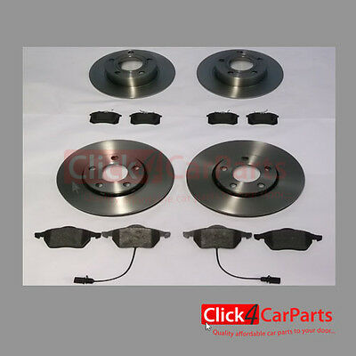 VW Passat 97-05 1.9 TDI Front and Rear Discs and Pads