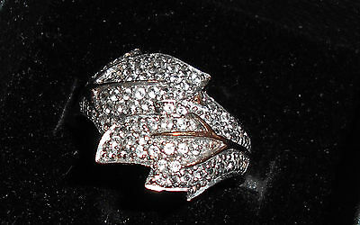 rose gold and diamond ring - O1/2