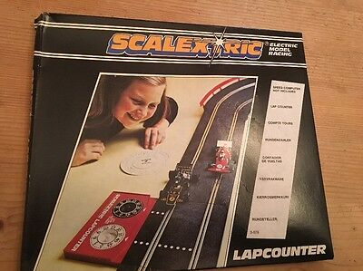 scalextric C277 Lap Counter Boxed Un Used