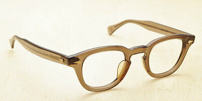 Tart Optical Arnel Smoke Gray 44/24 Mint Condition Hand Made in Japan