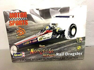 REVELL TOM McEWEN 'the MONGOOSE' RAIL DRAGSTER 1/24 SCALE MODEL KIT