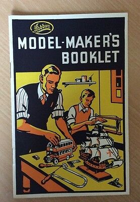 Hobbies model-makers booklet 1950's?