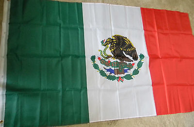 Mexican Flag Banner bright colors large size