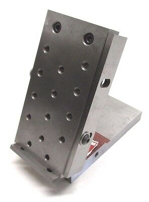 "SPI SUBURBAN 6"" x 3"" PRECISION SINE PLATE w/ 1/4""-20 TAPPED HOLES - #SP-136"
