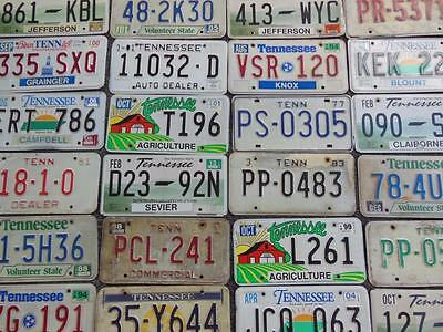 Tennessee License Plate Lot 60 Agriculture Farm Bicentennial Arts & Crafts #4