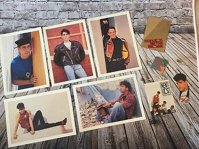 Original 1990 New Kids On The Block Fan Club Items Pictures And More