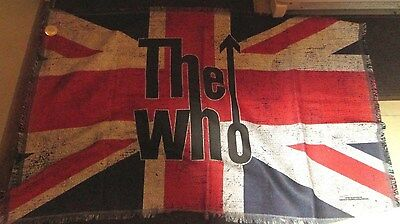 The Who Daltry Woven Blanket 36 X 58 Limited Edition Run Collectable