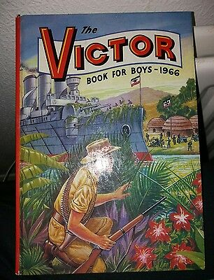 The Victor Book For Boys 1966 - Excellent  Condition
