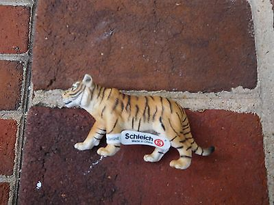 2003 Schleich Siberian Tiger Figurine Animal Retired - With Schleich Tag