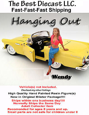 Hanging out Wendy American Diorama 1:24