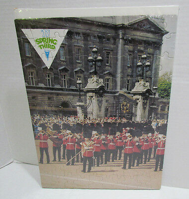 Pontiac '77 Spring Into Third Advertising Premium Jigsaw Puzzle Marching Band