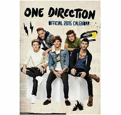 Official One Direction 2015 Calendar *** Official 1D Product *** NEW