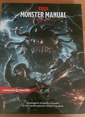 dungeons and dragons monster manual core rulebook 5th edition