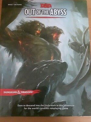 dungeons and dragons out of the abyss 5th edition