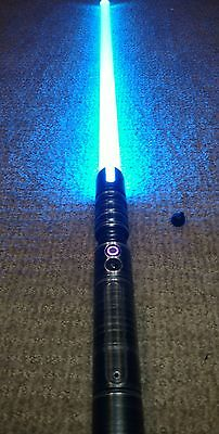Saberforge Champion Disciple lightsaber with Veridian Sound Effects