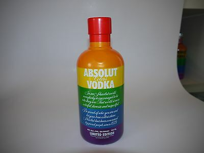 Absolut Vodka Colors Rainbow Limited Edition Case Hülle 700ml