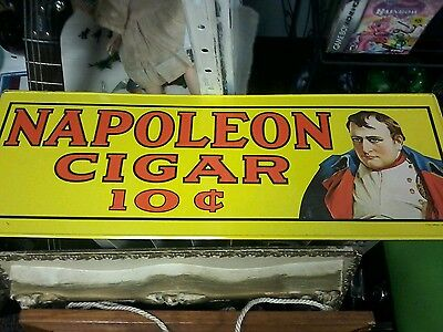 Cigar sign good condition look FREE SHIPPING