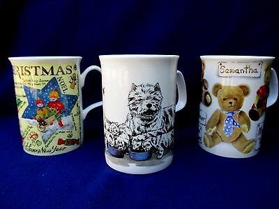 Roy Kirkham   Fine Bone China  - Collection Of Three Mugs