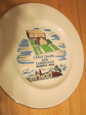 Cadle Chapel and Tabernacle Plate, Indianapolis Indiana