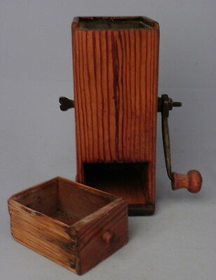 Antique Vintage Coffee Grinder Mill