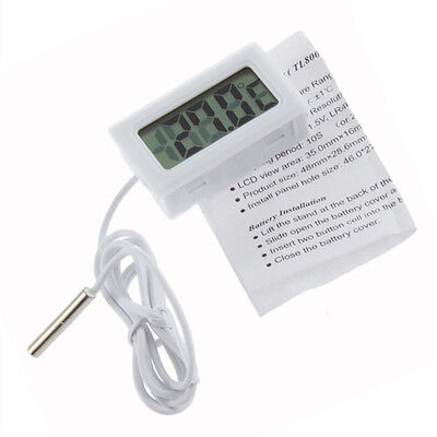 Home & Outdoor Mini Digital LCD High Temperature Thermometer With Probe Celsius